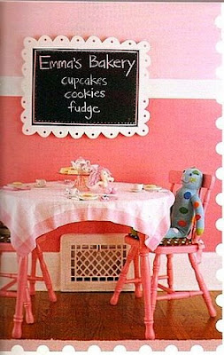 Daisy Pink Cupcake: ~Little Girls Cupcake Bakery Bedroom~